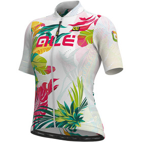 Alé Cycling Solid Tropika SS Jersey Women white/multicolour